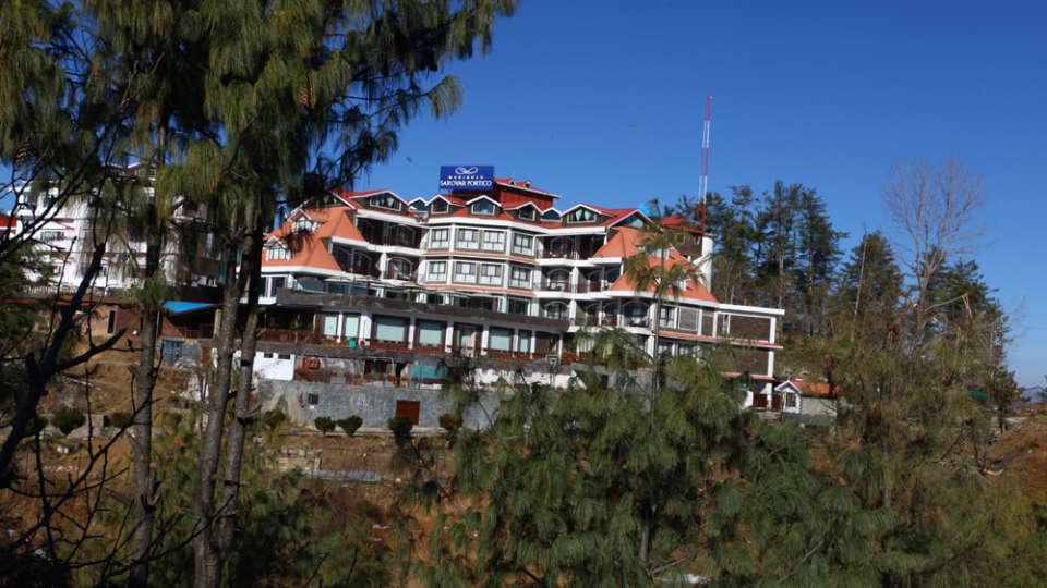Facade Marigold Sarovar Portico Shimla,top hotels in shimla 5
