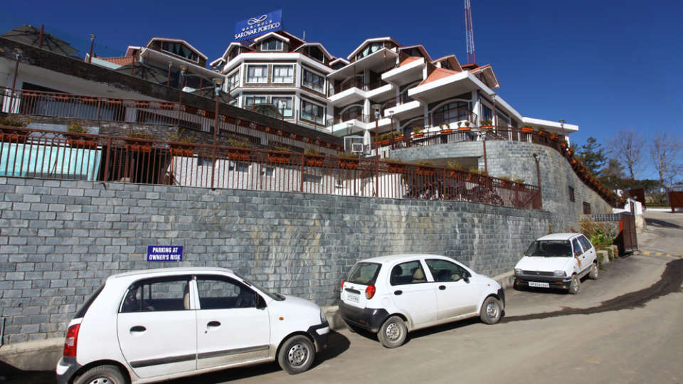 Facade Marigold Sarovar Portico Shimla, best resorts near Shimla