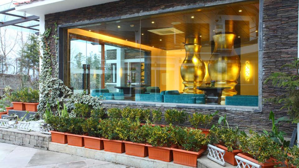 Facade Marigold Sarovar Portico Shimla 1