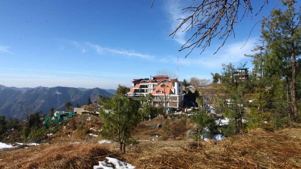 Facade Marigold Sarovar Portico Shimla 5