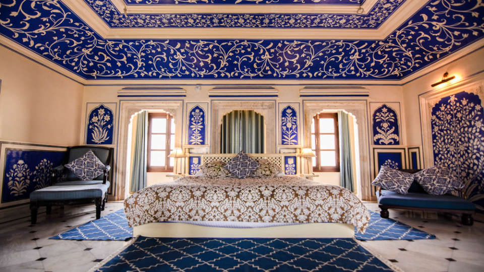 RoyalSuite5 Royal Heritage H Royal Heritage Haveli by Niraamaya Retreats Jaipur Hotel in Rajasthan