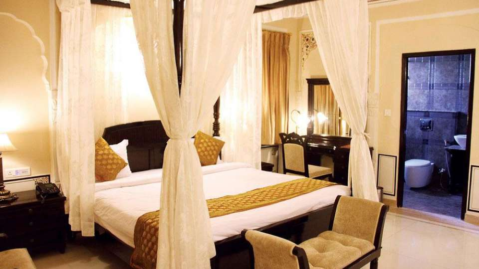 Traditional Heritage Haveli Hotel, Jaipur Jaipur premium room hotel traditional haveli