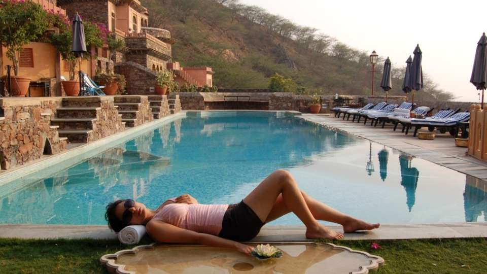 Spa, Neemrana fort palace, spa in Rajasthan