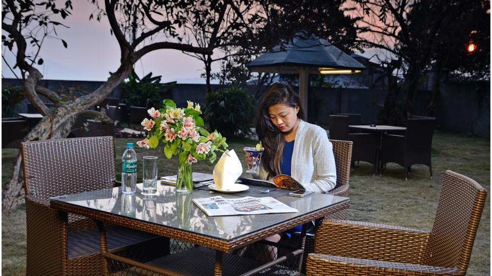 GARDEN at Summit Golden Crescent Resort Spa Gangtok 3