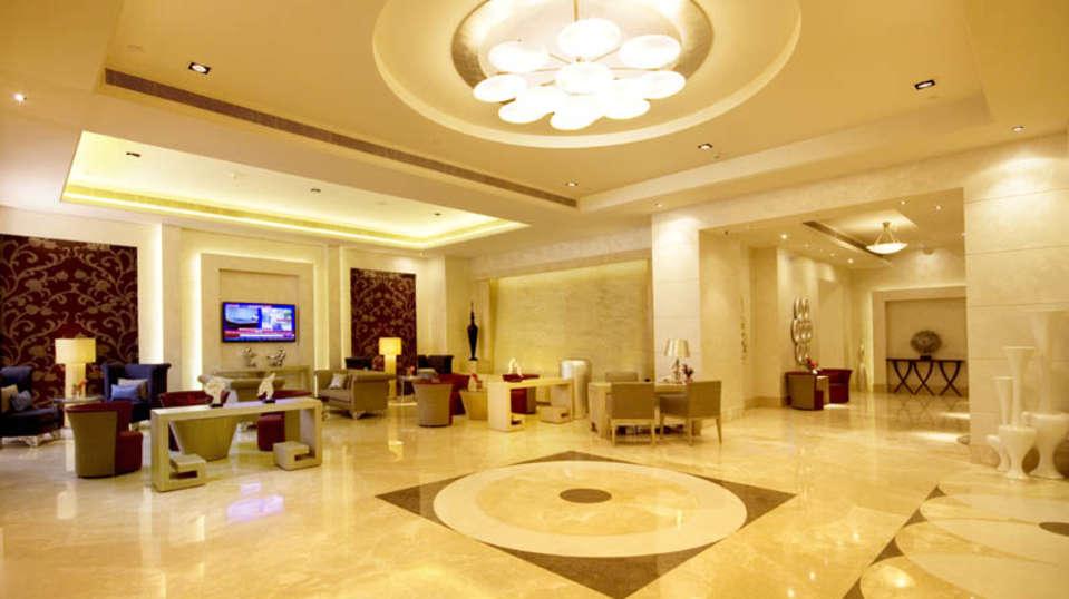 Reception Lobby Radisson Hyderabad Hitech City Hyderabad 1