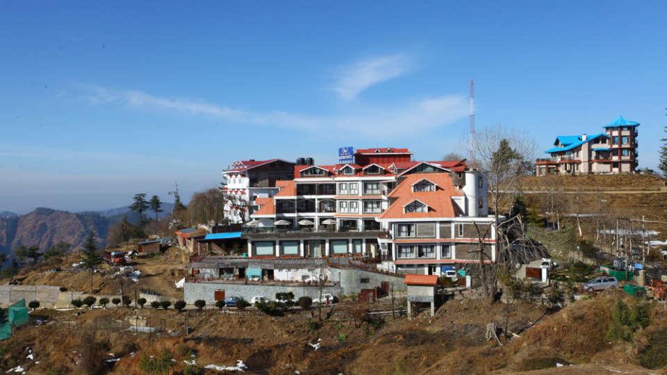 Facade Marigold Sarovar Portico Shimla, budget hotels in Mashobra 3