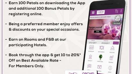 Benefits On Our Official App, Lotus Eco Beach Resort, Konark Hotels