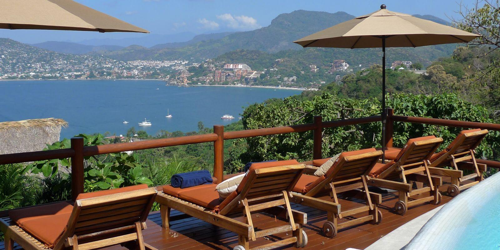 The view Solana BandB Zihuatanejo Mexico twmwfk