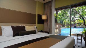 Hotel Tommasso Inn, Sriperambudur Sriperumbudur Poolside Room Hotel Tommasso Inn Sriperambudur