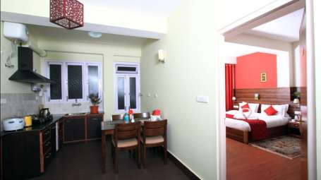 Hotel Shumbuk Homes Hotel & Serviced Apartments, Gangtok Gangtok Premium Room with attached kitchen.