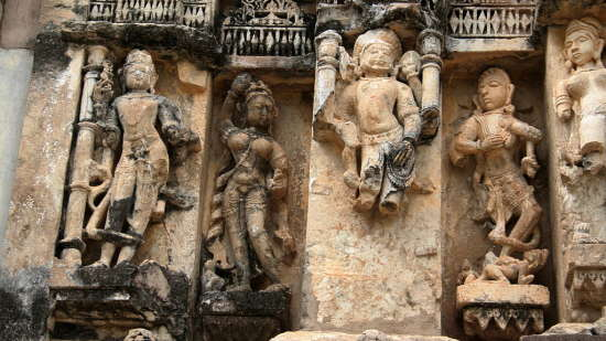 Hill Fort Kesroli - Alwar Kesroli Sculptures  Neelkanth temple  Alwar district  Rajasthan  India  IMG 1912