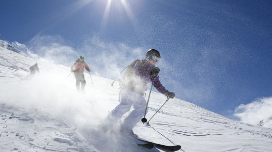 skiing in Kufri