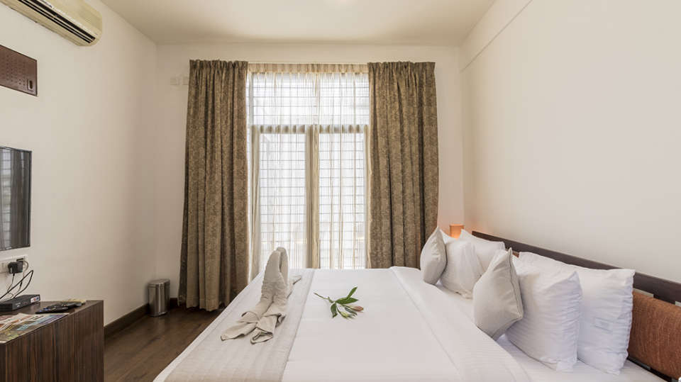 Rooms at The Bougain Villa Hotel in Bangalore near to MG Road 3