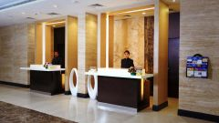 Reception at Abu Sarovar Portico Chennai-Kilpauk, top 5 hotels in chennai