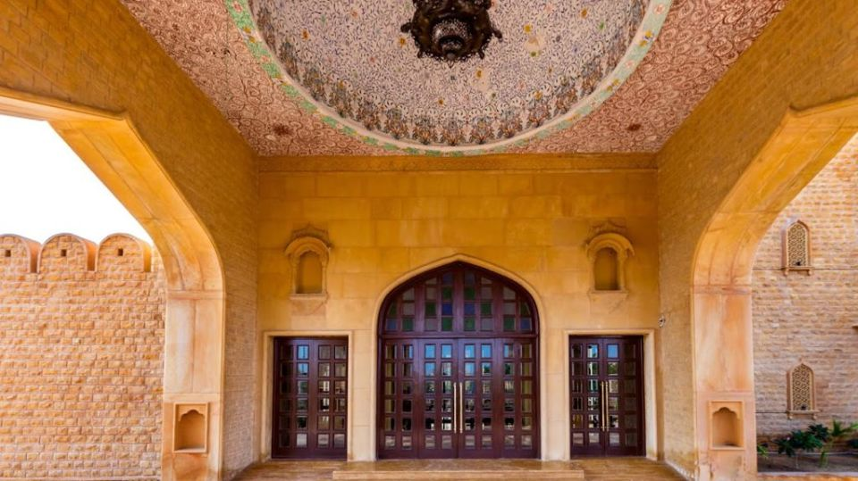 Lobby Entrance Door at Sairafort Sarovar Portico Jaisalmer hotels in Jaisalmer, Sarovar hotels