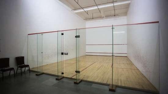squash facility at club 29
