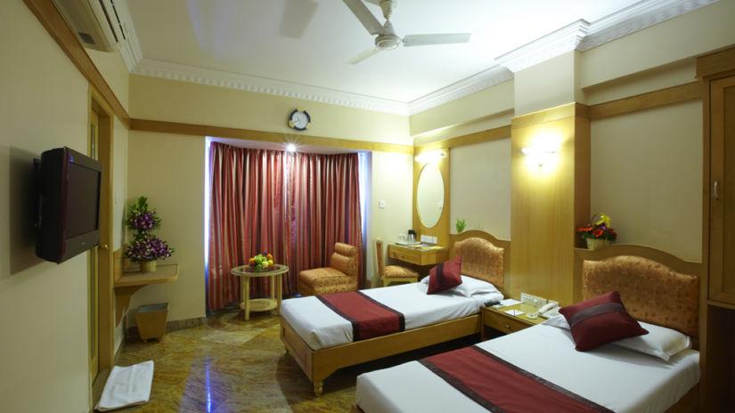 Hotel Pai Comforts, JP Nagar, Bangalore Bangalore Hotel Pai Comforts JP Nagar Bangalore Executive Room Twin Beds 1