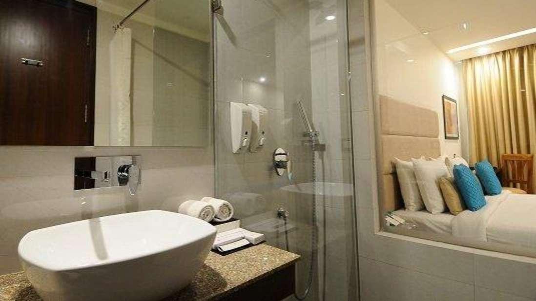 Bathroom Hotel Ascent Biz Noida