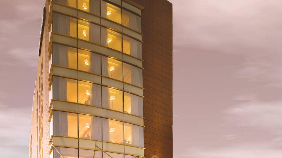 facade at  Park Inn, Gurgaon - A Carlson Brand Managed by Sarovar Hotels, gurgaon hotels 1