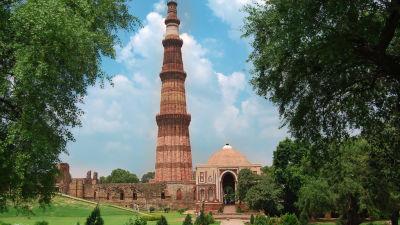 Qutab Minar The Muse Sarovar Portico Kapashera New Delhi