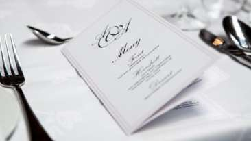 Weddings at Leisure Menu Planing