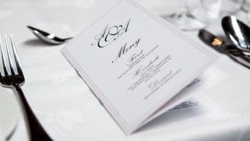 Weddings at Leisure Menu Planing