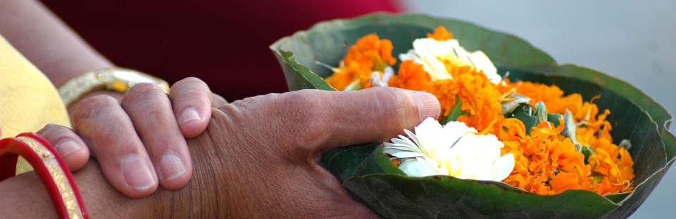 Haridwar HariKiPauri Flower Offerings leisure hotels