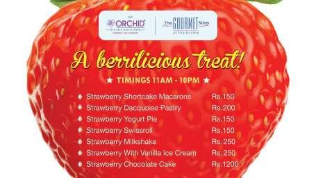 The Orchid - Five Star Ecotel Hotel Mumbai Strawberry Tend Card Orchid Hotel Mumbai
