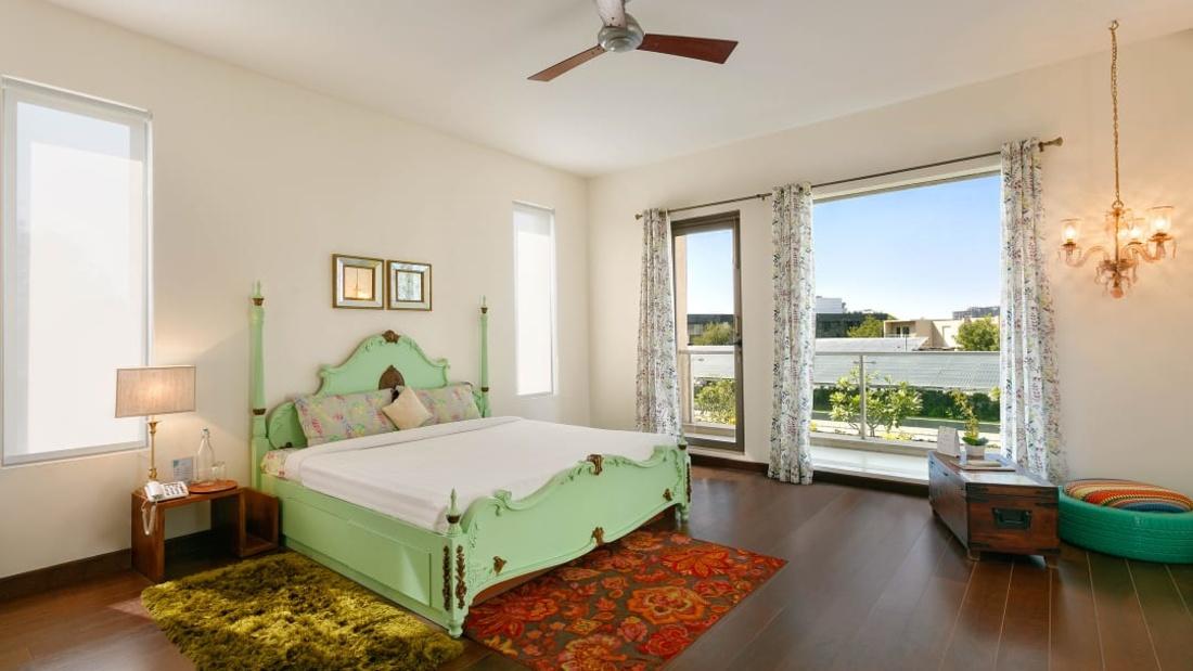 Villa 7 Karma Lakelands Villas in Gurgaon Suites in Gurgaon Luxury Accommodations in Gurgaon Luxury Rooms in Gurgaon Private Lawns in Gurgaon