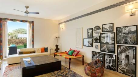 Villa 7 Karma Lakelands Villas in Gurgaon Suites in Gurgaon Luxury Accommodations in Gurgaon Luxury Rooms in Gurgaon Private Lawns in Gurgaon 5