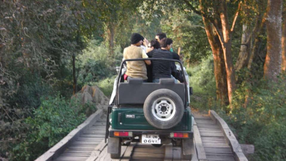 Kaziranga safari by Summit green village resort spa