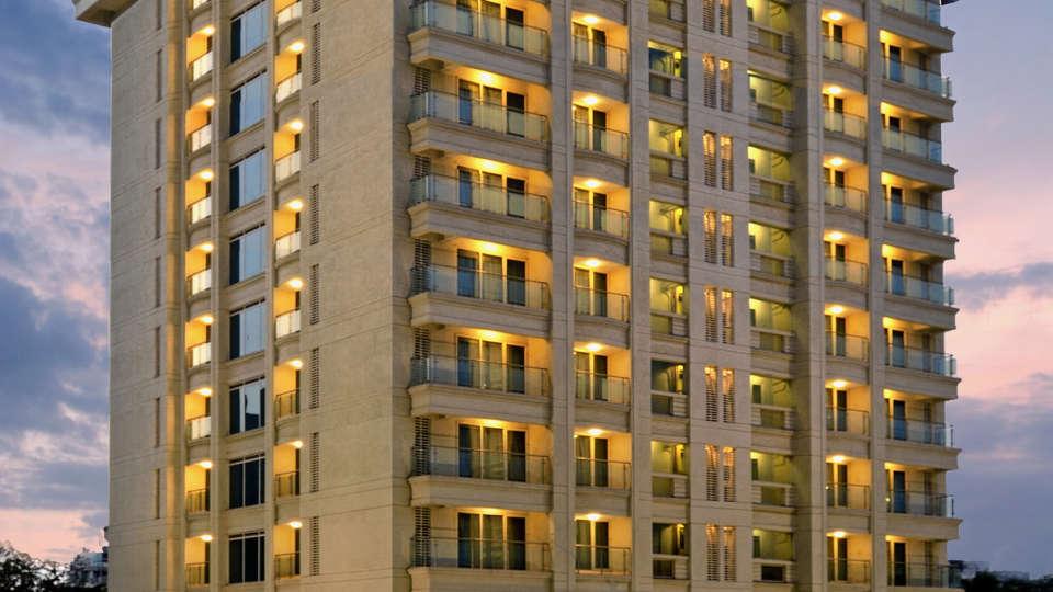 Facade at Residency Sarovar Portico Mumbai 1