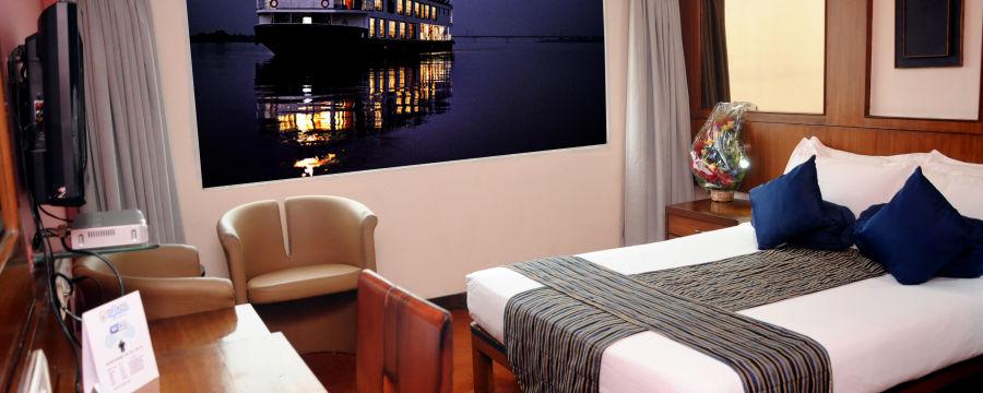 alt-text Hotel in Kolkata  Stateroom River Rooms in Polo Floatel Calcutta  Hotel Rooms in Kolkata 1