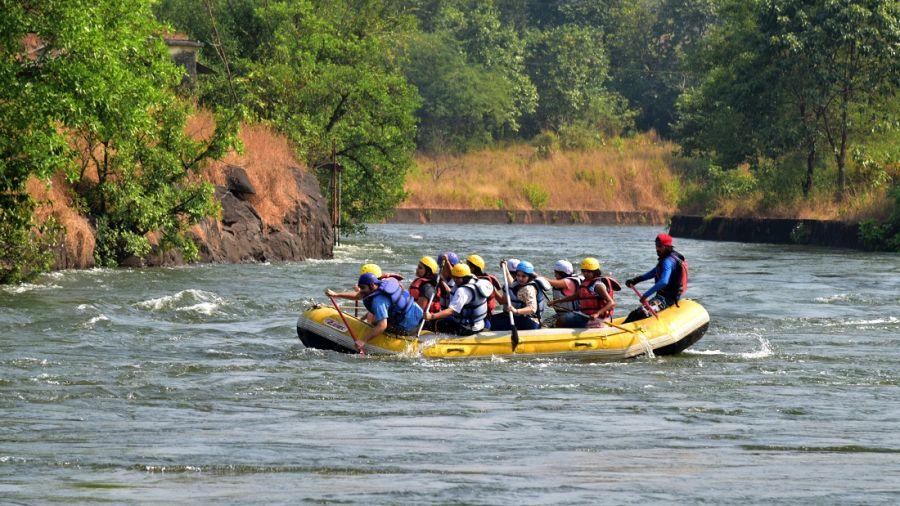 alt-text River Rafting - Kundalika