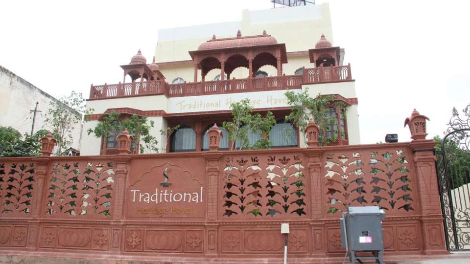 Traditional Heritage Haveli Hotel, Jaipur Jaipur welcomeheritage-traditional-haveli-jaipur-facade-53702768438fs