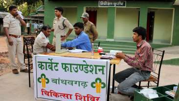 Forest Guard Medical Check up