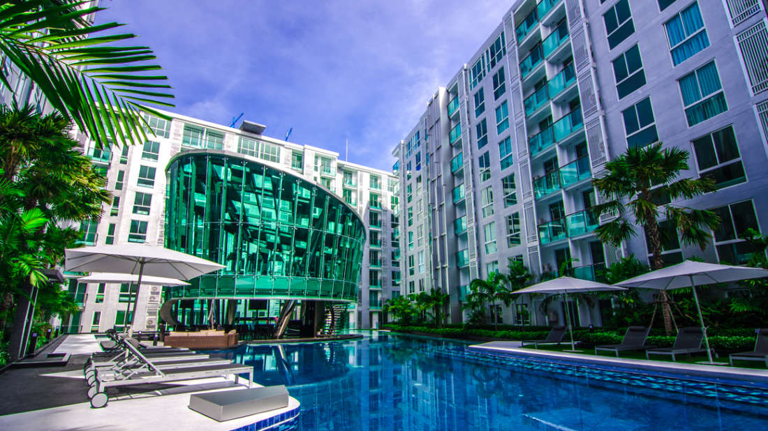Facade City Centre Residence Pattaya 1
