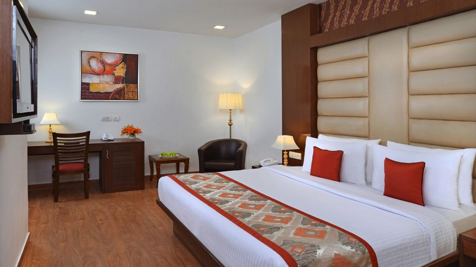 Standard Room at Taurus Sarovar Portico, New Delhi - A Hotel in Mahipalpur near Delhi Airport