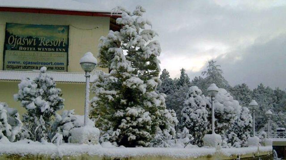Ojaswi Resort Chaukori Chaukori Snow Capped 2 Ojaswi Hotel and Resort in Chaukori
