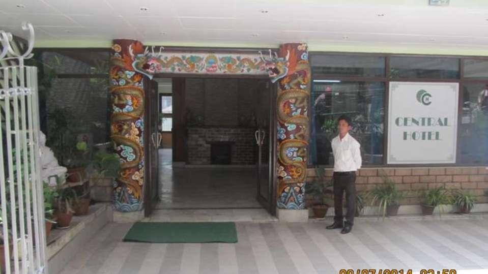 Exterior view of  Central Hotel Gangtok