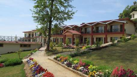 Ojaswi Resort Chaukori Chaukori Exterior View of Ojaswi Hotel and Resort in Chaukori