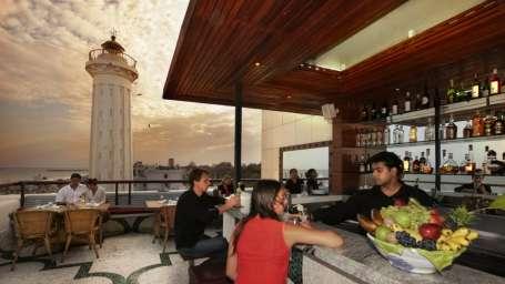 The Rooftop Restaurant The Promenade Pondicherry