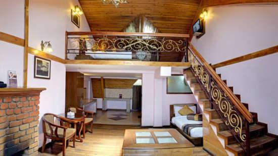 chalet-room Summit Grace Hotel and Spa, Darjeeling