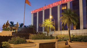 Facade of Hotel Ramada Plaza Palm Grove Juhu Beach Mumbai, 5 star hotels near Mumbai airport