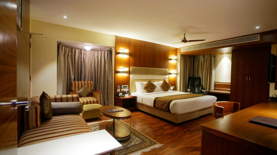 Daspalla Executive Court Vizag -P-SUITE BEDROOM