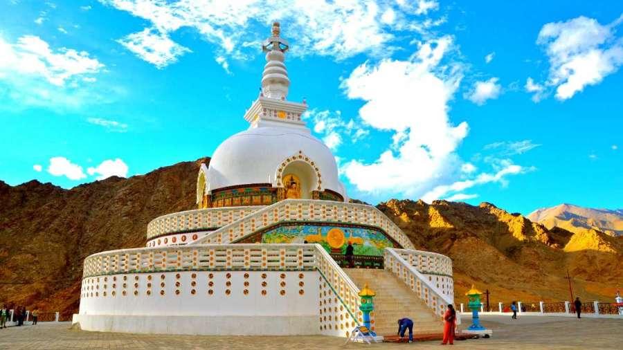 Shanti Stupa  Leh  Ladakh - Evoke Hotels