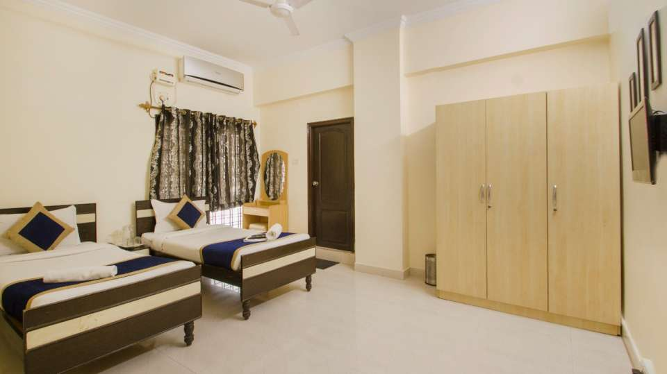 Rooms at Hotel NirmalVilla Cherry Service Apartment - Begumpet Hyderabad 1