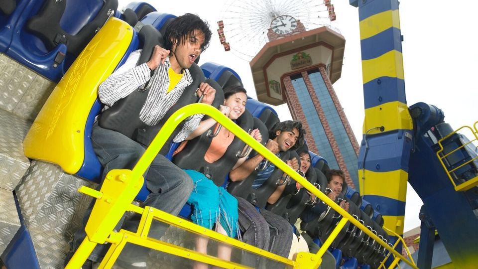 Thrillers Rides - Maveric at  Wonderla Amusement Park Bengaluru