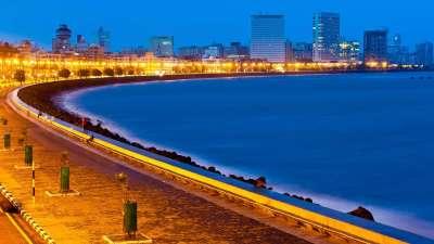Queens Necklace, Hotel Marine Plaza Mumbai