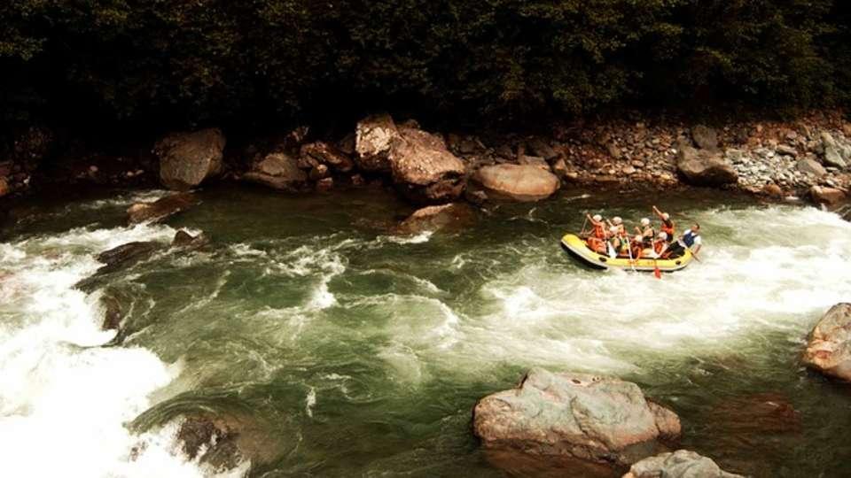Forrest Rajaji National Park Resort Dehradun  rafting
